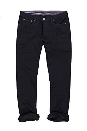 JP 1880 Herren große Größen bis 70, Hose, Komfortbund, Regular Fit, Stretch, Baumwolle, 5-Pocket-Form schwarz 64 702613 10-64