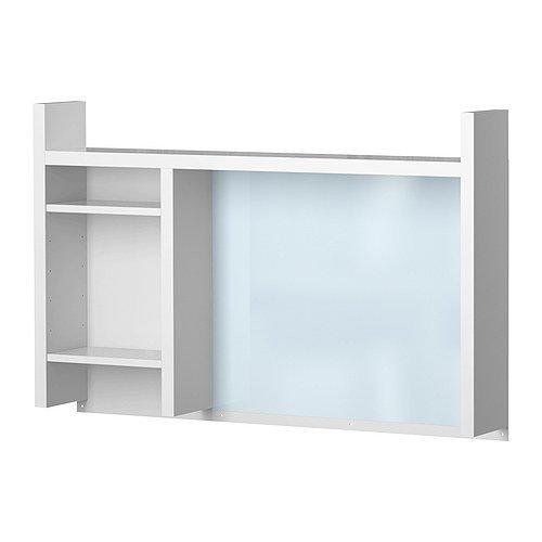 Ikea MICKE - Unidad de Add-Alto, Blanco - 105x65 cm