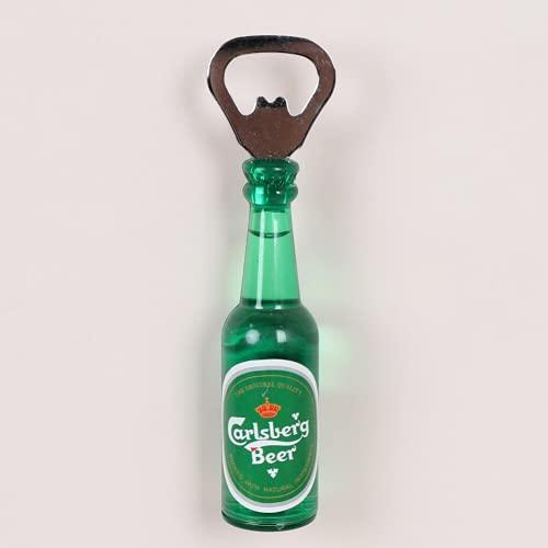 AUSUKY Imán creativo para nevera, bebidas de cerveza, abrebotellas, etiqueta engomada para el hogar, refrigerador, divertido DIY (4)