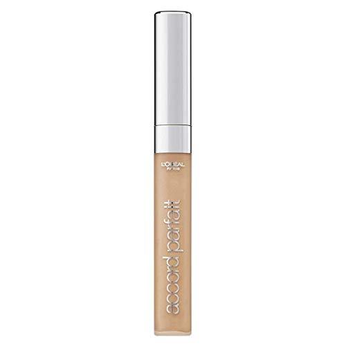 L'Oréal Paris - Soin Correcteur Fluide Accord Parfait - Tous Types de Peaux - Teinte : Beige (4.N) - 6,8 ml
