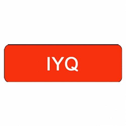 "Larocks ""IYQ"" Clown Badges"