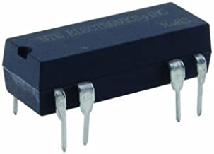 NTE Electronics R56-5D.5-6 General Purpose Dual in Line Package DC Reed Relay, SPDT, 0.5 AMP, 5 VDC