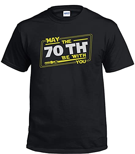 May The 70th Birthday Be with You - Camiseta para hombre, diseño de Star Wars