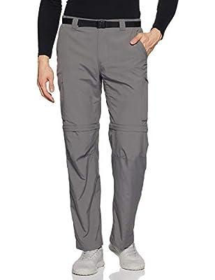 Columbia Men's Silver Ridge Convertible Pant, City Grey, 44x30