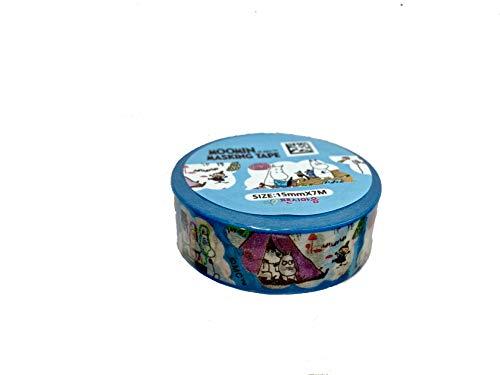 Moomin Washi Tape - Have You Met The Moomins blau