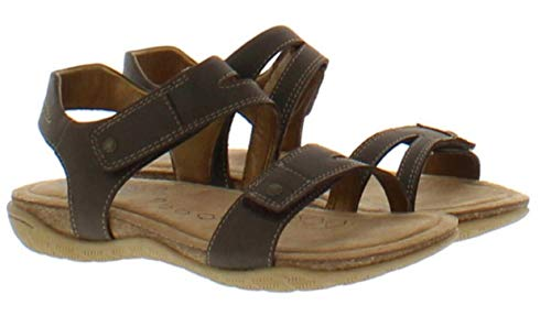 Khombus Women Solace Ava Comfort Footbed River Brown