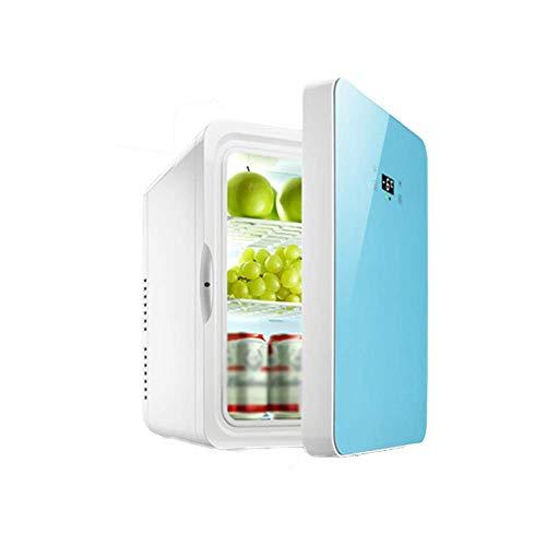 Mini-Kühlschrank 22 Liter AC / 12V DC Tragbarer Minibar Absorption Kühlschrank Mit Temperaturregelung Für Schlafzimmer, Kosmetik, Muttermilch, Haushalt Und Reisen,Blau
