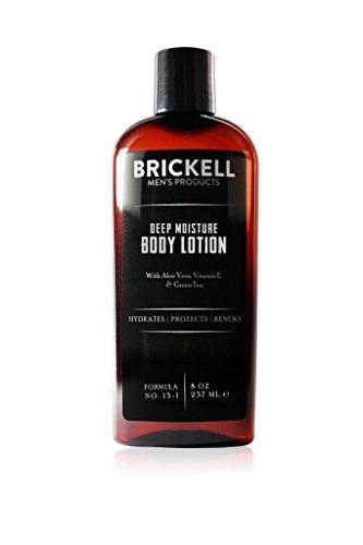 Brickell Men's Products Lozione Idratante Corpo per uomo - 237 ml - Naturale ed Organico