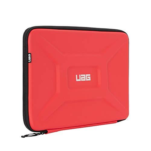 Urban Armor Gear Laptop Sleeve universale per Apple MacBook Pro, Microsoft Surface Book 2 / Laptop 3 etc. (manicotto universale per laptop fino a 15', manicotto con tasca a rete) rosso