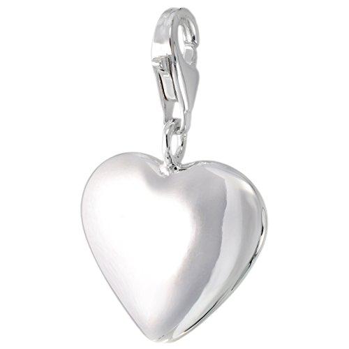 Corazón MELINA Charm brillante plata 925 1801764 macizo