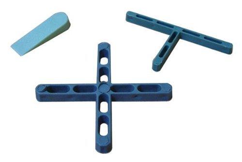 Espaciadores para azulejos cruz plástica a 5 mm 250pz Cf