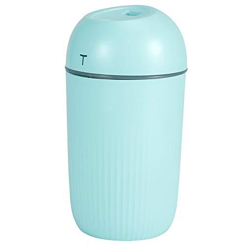 【𝐎𝐟𝐞𝐫𝐭𝐚𝐬 𝐝𝐞 𝐁𝐥𝐚𝐜𝐤 𝐅𝐫𝐢𝐝𝐚𝒚】Mini purificador de aire portátil para el hogar con apagado inteligente, humidificador de escritorio de 420 ml, para oficina en casa(green)