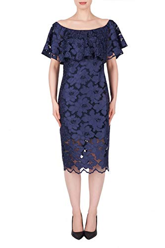 Joseph Ribkoff Navy Dress Style 191492 - Spring 2019 (12UK)