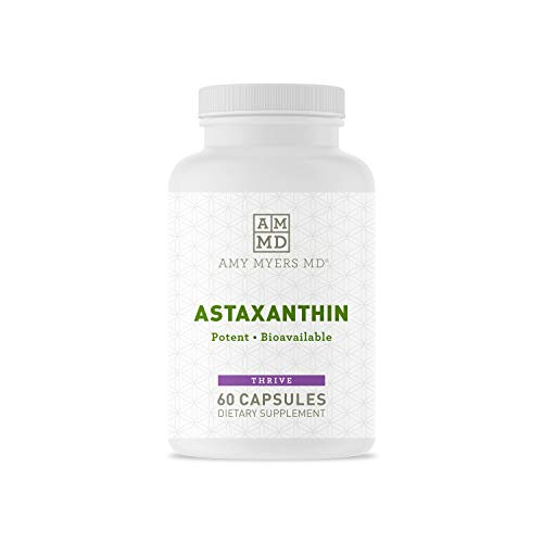 Astaxanthin 12mg from Amy Myers MD, 60 Softgels - Antioxidant Carotenoid Supplement for Healthy Aging, Skin & Eyes, Immune Health + More - Supports Sports & Cardiovascular Recovery for Men & Women