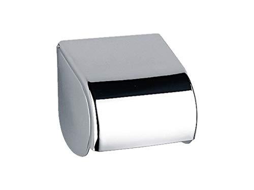 Keuco 01660010000 Toilettenpapierhalter Elegance, komplett mit Deckel, verchromt