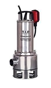 T.I.P. 30072 Bomba de inmersión para aguas residuales Extrema 300/10 PRO con rueda de impulsión de acero inoxidable