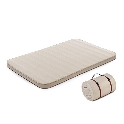 NNDQ Sleeping- Self-Inflating Camping-Mat, Comfortable Camping Mattress, Lightweight Foam, for Hiking Camping Gear, Tent and Family Camping