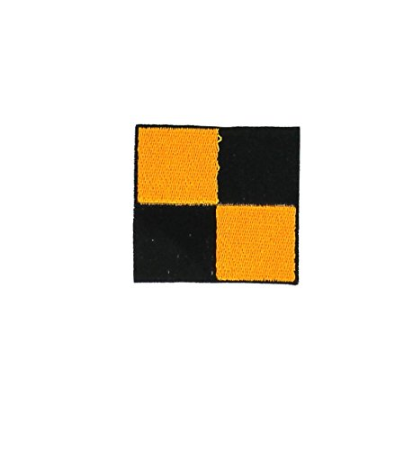Aufnäher gestickt Flagge / Maritimer Signalcode Rucksack L Lima