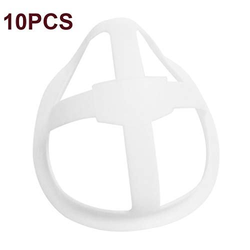 eiuEQIU 3D Holder Mundschutz, Lipstick Protection Stand, interner Halter, Rahmen für Nase und Atmung, kleben Sie keinen Lippenstift auf, erweitern Sie den Atemraum