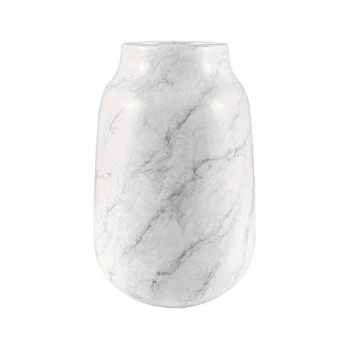 ELK 857-177 Vase/Jar/Bottle, White Faux Marble