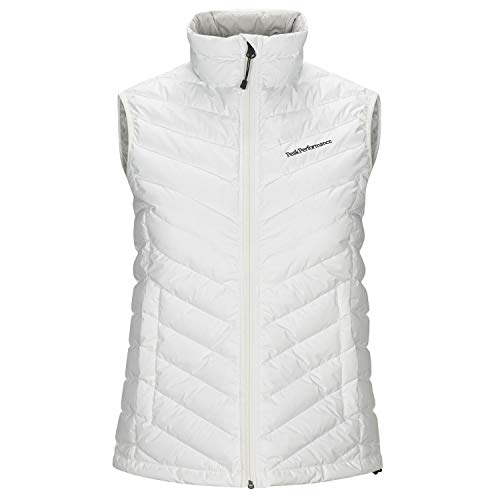 Peak Performance Womens Frost Down Vest, Off Wit