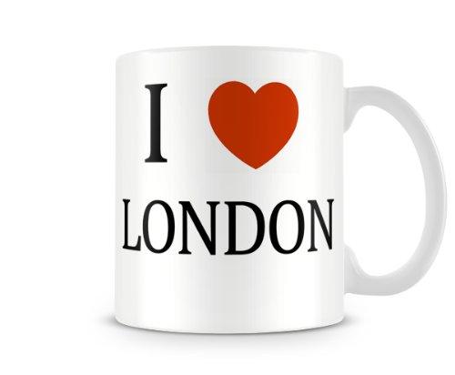 Christmas Stocking Filler Ideal Gift I Love London...