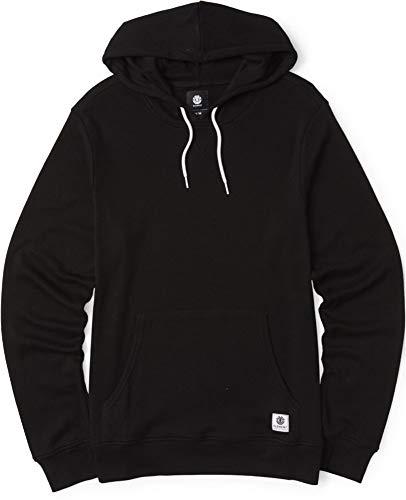 Element Ridge L/S Hooded Shirt Mens Sz L Flint Black