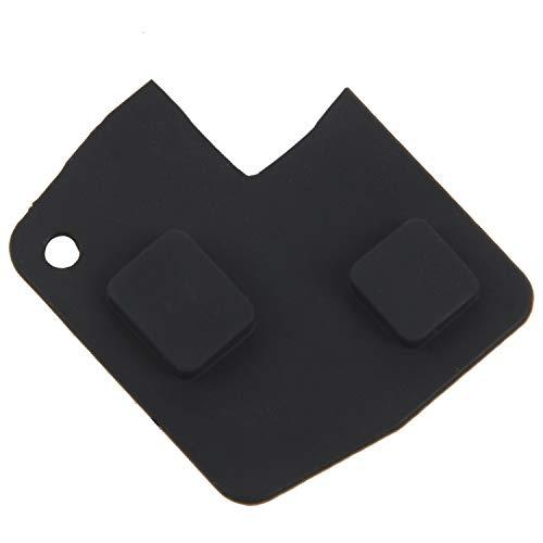 OVBBESS 2 teclas de goma botón de control remoto para Yaris Rav4 Corolla Mr2 Celica