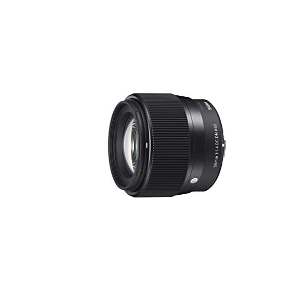 RetinaPix Sigma 56mm f/1.4 DC DN Contemporary Lens for Canon EF-M Mount