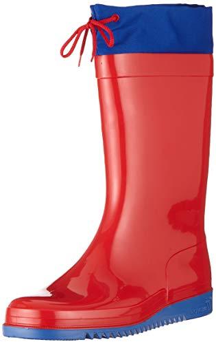 Romika Bobby, Stivali di Gomma Unisex-Adulto, Rosso (Rot/Blau 413), 41 EU