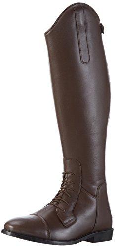HKM Erwachsene Reitstiefel-Spain, Softleder, kurz/Standardweite2400 braun39 Hose, 2400 braun, 39