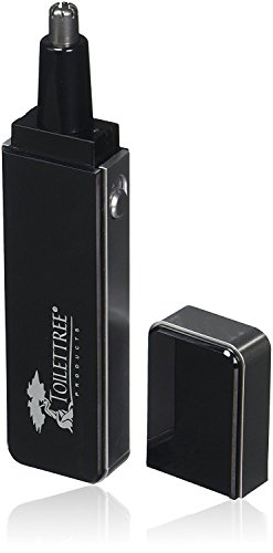 ToiletTree Products Sleek Nose Hair Trimmer with Precision Cutting Tip