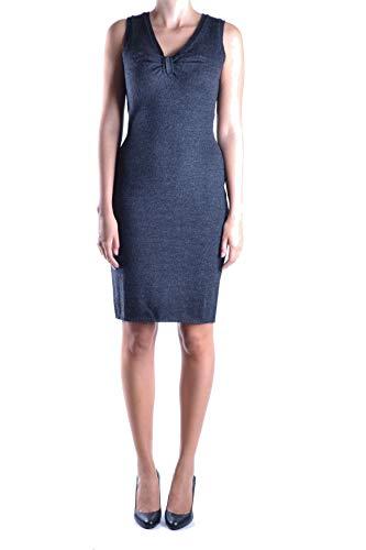 DOLCE E GABBANA Luxury Fashion Damen MCBI11287 Blau Wolle Kleid   Jahreszeit Outlet
