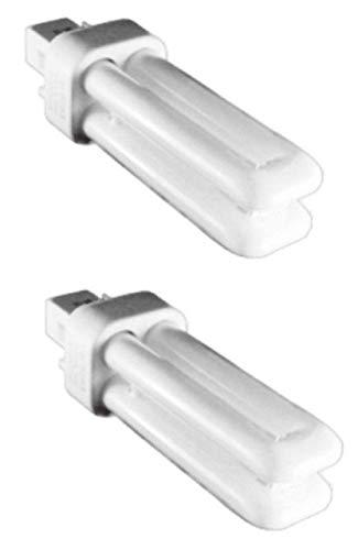 Kosnic 10W lampada CFL exun-d/e–Confezione di 2pezzi–G24q-1/4-pin base, bianco puro 4000K, 12,000ore di vita, 620lumen/lampadina fluorescente compatta raccordo/non/SKU: KFT10ST2/4p-840x 2