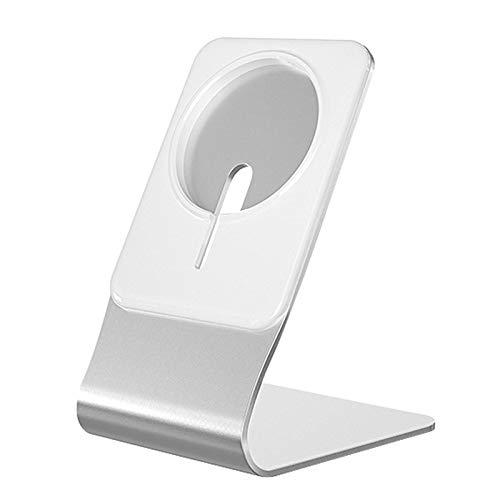 Soporte de cargador de teléfono inalámbrico magnético antideslizante para IPhone 12 Soporte de base de alimentación de escritorio Magsafe