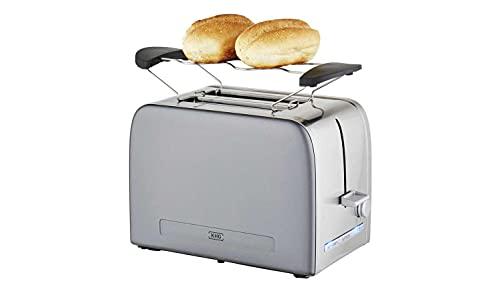 KHG Toaster Grau Kunststoff 31,7cm B x 18,8cm H