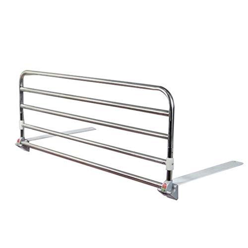GHHZZQ Ajustable Barandillas de Cama Durable Aleación de Aluminio pasamanos Plegable para Anciano Anti-caída Hogar Hospital Fácil de Instalar y Usar (Color : 60cm)