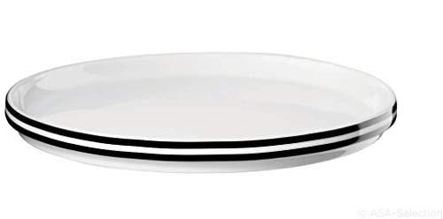ASA 16144038 Memphis Assiette en porcelaine