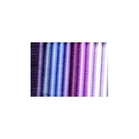 Purple Wave Design Ribbon Gold Back 4 Farris Silk