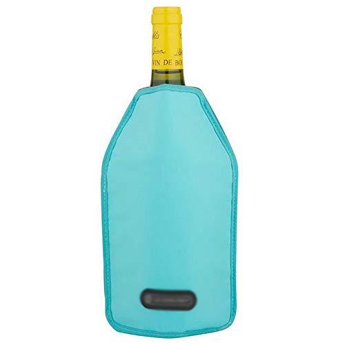 Kühlmanschette, Ice Jacket zum schnellen Abkühlen von Wein-, Champagner-, Bier- und Wasserflaschen, Kühltasche, Multi Color optional