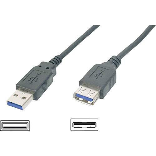 Cavo Prolunga USB 3.0 Tipo A M/F 1.8m, Nero