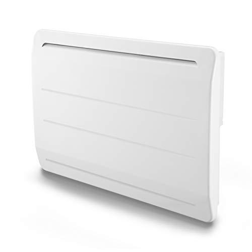 Radiador de hierro fundido, 1500 W, detector de ventana abierta, LCD programable, color blanco