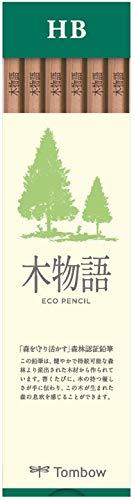 トンボ鉛筆 鉛筆 S木物語 HB 1ダース LA-KSHB 【× 4 セット 】