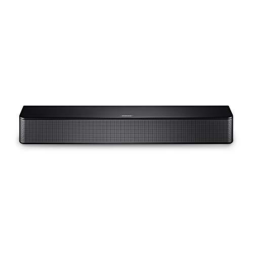 Bose Solo Soundbar Series II - Altavoz de TV con conectividad Bluetooth, Negro