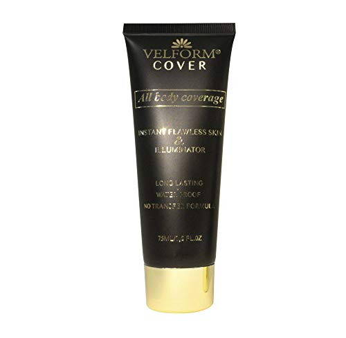 Velform® Cover Soin Body Fond de Teint Couvrant Corps 75ml Waterproof Ton Honey
