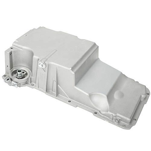 BLACKHORSE-RACING LS Oil Pan Aluminum Engine Oil Pan 12628771 264-331 Compatible with 1998-2002 Pontiac Firebird Ch-evrolet Camaro 2009 Express GMC Savana 3500 V8 4.8L 5.7L
