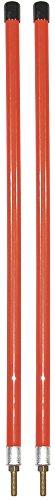 Buyers Products 1308111 Orange Sichtstange für Schneepflug (Stollenhalterung)