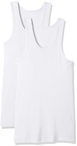 [セシール] 男の綿100% 消臭・抗菌 ランニング(2枚組セット) KO-860 ホワイト 日本 L (日本サイズL相当)