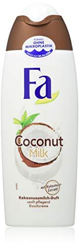 FA Duschcreme Coconut Milk mit Kokosnuss-Extrakt und Kokosnussmilch-Duft, 6er Pack (6 x 250 ml)