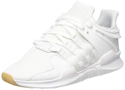 adidas Men's EQT Support Adv Gymnastics Shoes, White (FTWR White/FTWR White/Gum 3), 8.5 UK
